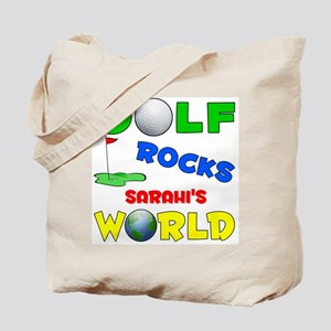 Golf Rocks Sarahi's World - Tote Bag
